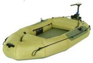 Лодка под мотор с навесным транцем