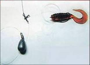 Комбинированная рыболовная приманка