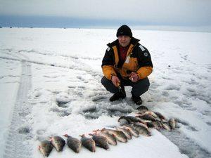 Ловля на балду зимой