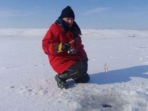 Рыбалка на балду зимой