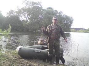 Рыбалка в Казазаевке Речицкий район