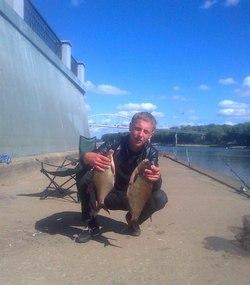 Рыбалка в Гомеле на набережной
