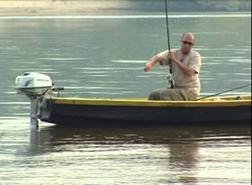 Ловля фидером с лодки