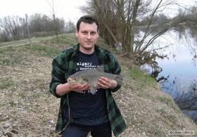Рыбалка на реке Птичь