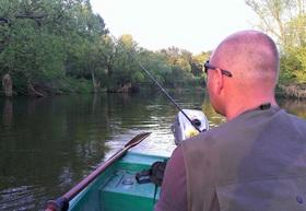 Сплав на малой реке
