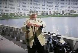Рыбалка в Минске на набережной