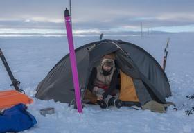Ремонт зимней палатки самостоятельно