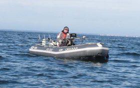 Эксплуатация лодки ПВХ в мороз